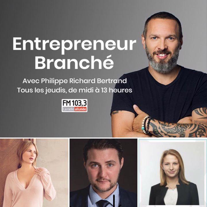 Ce midi à « Entrepreneur Branché » au FM 103,3 – La radio allumée je reçois:  Anne-Marie Losique de Vanessa Media  Orlane Panet de MicroHabitat  Jonat…